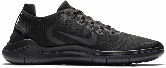 Zapatillas Nike Free Rn Triple Black Original X Pedido