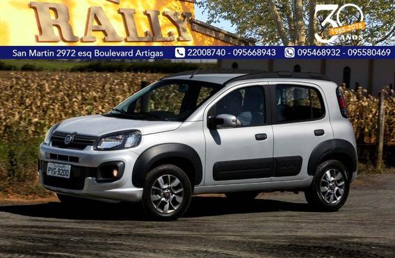 Fiat Uno 1.4 Way L U$s 6500 Y Cuotas Sola Firma