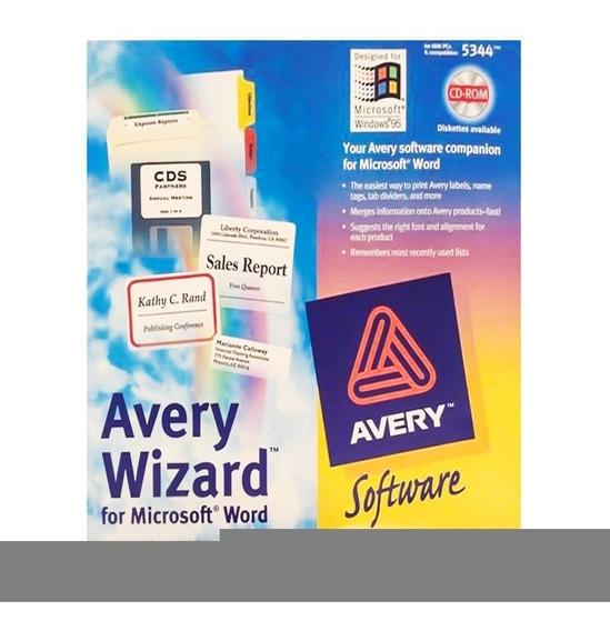 Programa Avery Wizard 3.1 5344 Districomp