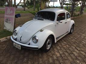 Fusca Branco 84 Volkswagen