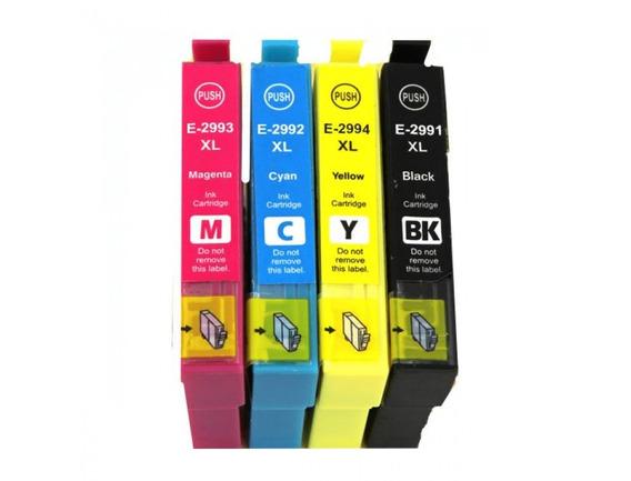 Pack 4 Cartuchos Compatibles Epson Xp245 Xp 345