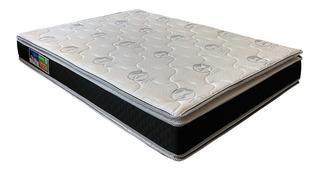 Colchón Queen Size Espuma Alta Densidad Doble Pillow Azaleia