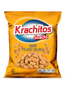 Maní Pelado Krachitos 65g