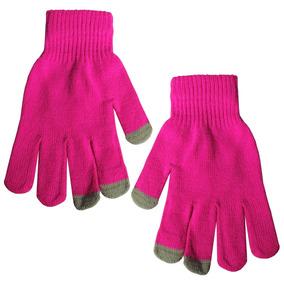 Guantes De Mujer C/punta Touch P/ Usar Celulares 5 Colores