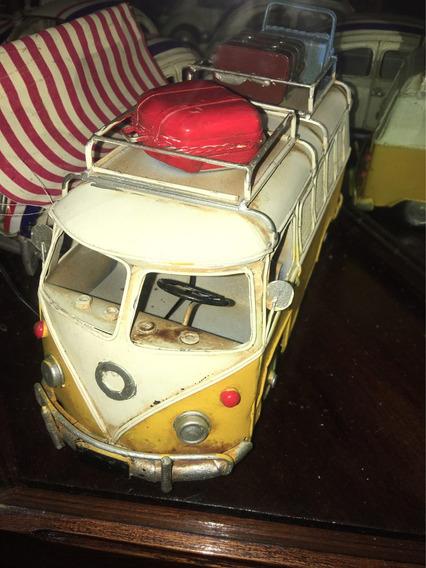 Kombi Vw Antigua Replica Chapa 34 Cm Auto Decoracion