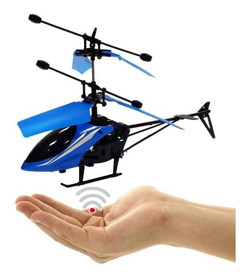 Helicóptero Volador Infrarrojo Juguete Inducción Para Niño