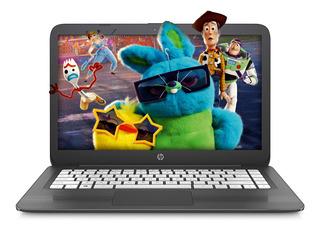 Notebook Hp Stream 14`hd N4000 4gb Ram 64gb Disco Solido Amv