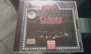 Sar All Stars Live Ochentas Cd Salsa Clasica Made In Usa