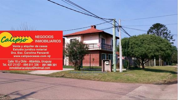 Apartamento - Atlantida - 2 Dorm - Inmobiliaria Calipso