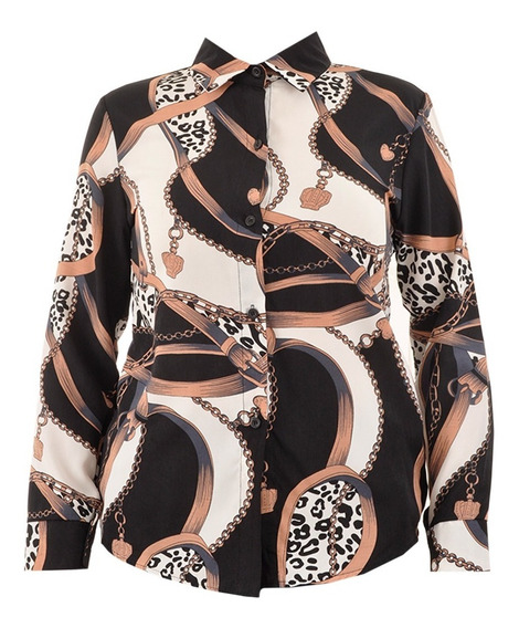 Camisa Dama Estampada - Original