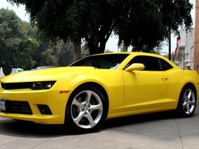 Chevrolet//camaro Ss//2015 Como Nuevo!! Tm6, Solo 12,000 Kms