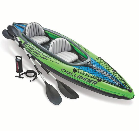 Botes Kayak Challenger 2 Personas Intex