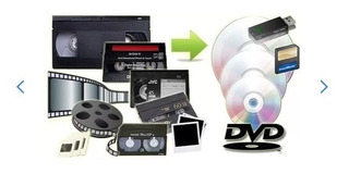 Digitalizacion Videos, Vhs, Minidv, 8mm, Vhsc, Slides, Audio