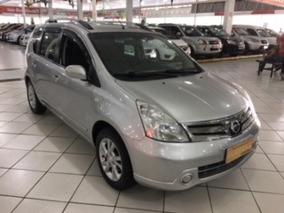 Nissan Livina 1.6 Flex 5p - 2014 -prata