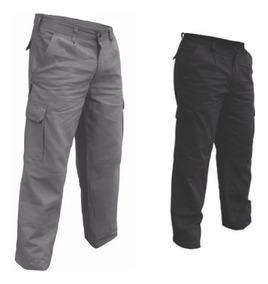Pantalón Cargo De Trabajo Reforzado Pack 2 - Mundo Trabajo
