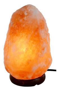 Lampara De Sal Luz Del Himalaya - 1,5 A 2 Kg Con Dimer