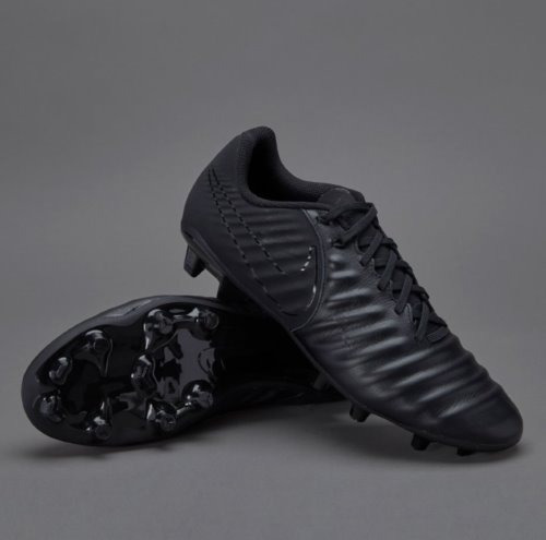 official photos 9ae84 23e4f Zapatos Nike-tiempo-iv-fg Triple Black