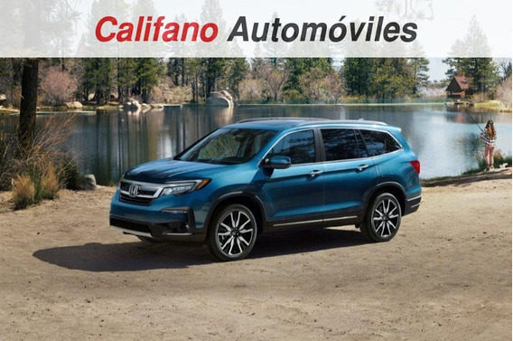 Honda Pilot Ex-l V6. Tasa0% Y Seguro Gratis 1 Año. 2019 0km