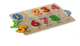 Puzzle De Encastres En Madera Para Bebes. 5 Diseños