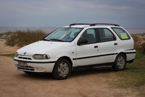 Fiat Palio Weekend 2001 Turbodiesel 1.7 Blanca Al Día