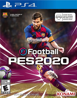 Ps4 Playstation 4 Original Pes 20 Pro Evolution Soccer 2020