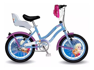 Bicicleta Frozen Rodado 14 Original Magic Makers