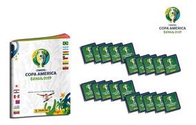 Copa América Brasil 2019 - 20 Sobres + Album Obsequio