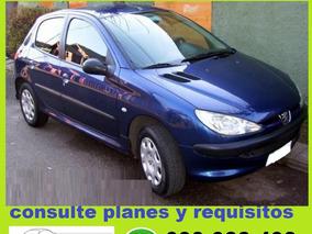 Peugeot 206 Xn 1.4 100% Financiado Solo $ 6500 Por Mes