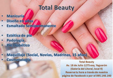 Manicuría, Podología, Maquillaje, Esmaltado Semipermanente