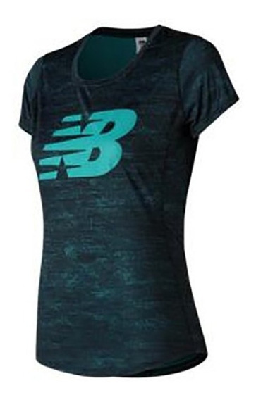 Camiseta Remera New Balance Accelerate Printed Dama