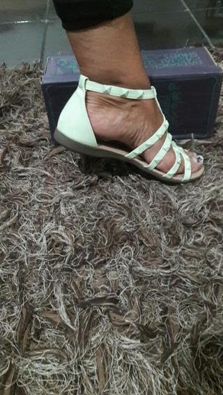 Sandalia Sin Uso En Caja Verde Agua O Rosada Talle 37 38 39