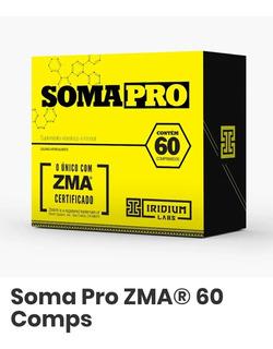 Somapro Con Zma Precursor Hormonal-60 Capsulas-somatodrol