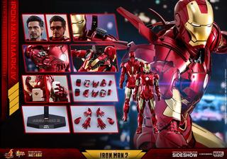 Iron Man Mk Iv Die Cast Hot Toys