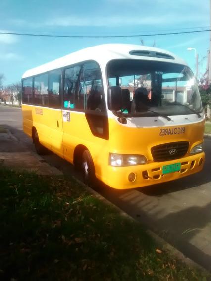 Venta Camioneta Hyundai County Con Reparto Y Chapa Escolar