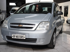 Chevrolet Meriva Gls 2010 Motor: 1.8 Rural Airbags Full Gris