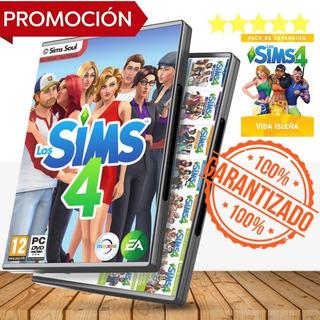 Los Sims 4 La Colección Total Incluye Vida Isleña + Regalo