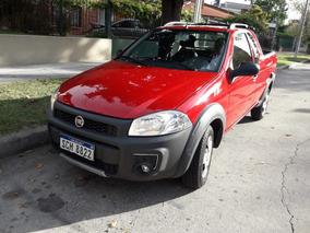 Fiat Strada Working 2017 Cabina Extendida