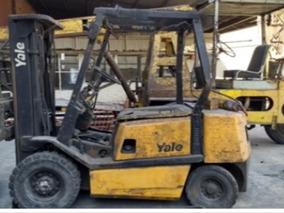 Autoelevador Yale Gdp25 Diesel T/triple C/desplaz.en Tucuman