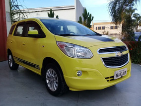 Chevrolet Spin Lt 1.8 Flex 2013 Amarelo