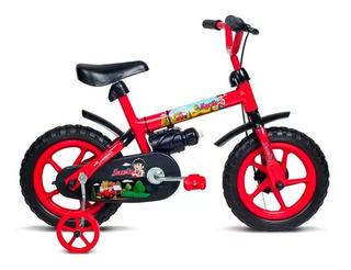 Bicicleta Infantil Rodado 12 Con Rueditas - Niño O Niña