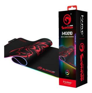 Mousepad Gamer Marvo Scorpion Mg010 Retroiluminado Rgb Febo