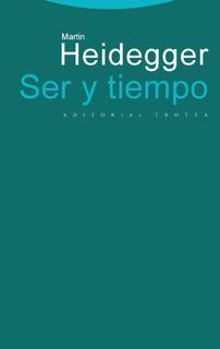 Ser Y Tiempo - Martin Heidegger - Editorial Trotta