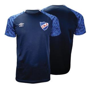 Remera Camiseta De Nacional Umbro 2019 Entrenamiento Adulto