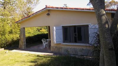 Casa En Alquiler Santa Lucía Del Este. 2 Cuadras Del Mar.