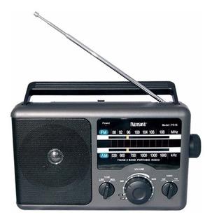 Radio De Mesa Microsonic Am- Fm Corriente Pilas Audio