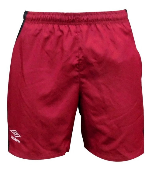 Short Bermuda 2 Colores Con Bolsillos Y Suspensor Umbro
