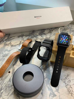 Apple Watch Series 3 Lte 16 Gb + Batería + 3 Pulseras+ Stand