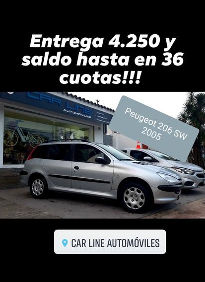 Peugeot 206 Sw Financio Permuto