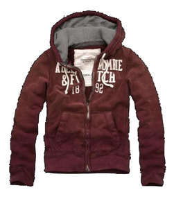 ¡ Campera Abercrombie & Fitch By Hollister Buzo Canguro S !