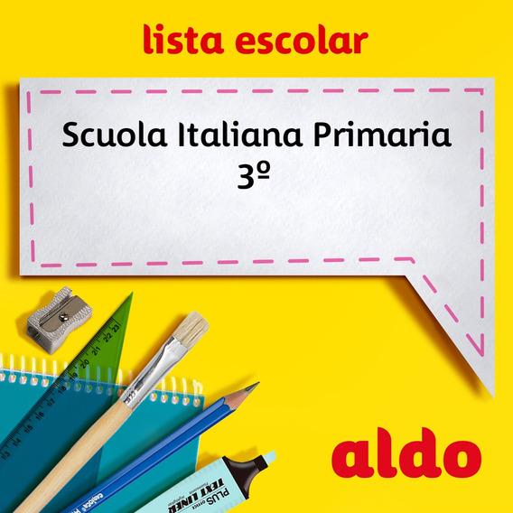 Lista Escolar Scuola Italiana Primaria 3º